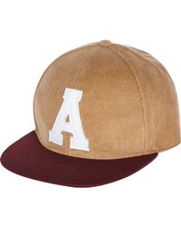 River Island | Brown Stone Lettered Cap for Men | Lyst