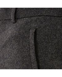 River Island - Gray Grey Wool-blend Cargo Joggers for Men - Lyst