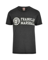 For Sale Footlocker Eastbay For Sale Mens Franklin and Marshall Black Franklin T-shirt River Island kLW0oIiT