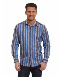 Robert Graham - Blue Taino 2 Sport Shirt for Men - Lyst