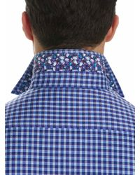 Robert Graham - Purple Matira Sport Shirt Tall for Men - Lyst