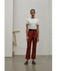 Rosetta Getty - White Short Sleeve T-shirt - Lyst