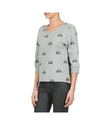 ONLY - Gray New Cameron Sweatshirt - Lyst