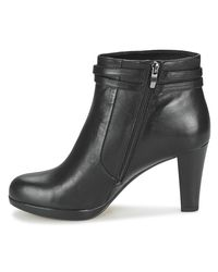 Clarks - Black Kendra Low Ankle Boots - Lyst