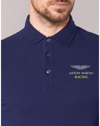Hackett - Irimute Men's Polo Shirt In Blue for Men - Lyst