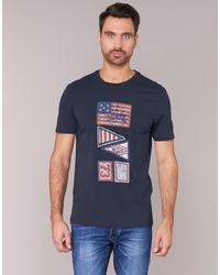 Timberland - Blue Eastham Ss Graphic Tee T Shirt for Men - Lyst