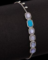 Meira T - Black 14k 3.02 Ct. Tw. Diamond & Gemstone Bracelet - Lyst
