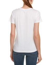 Vince - White Boy T-shirt - Lyst