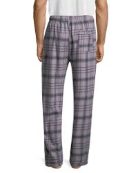 Psycho Bunny - Gray Flannel Pant for Men - Lyst
