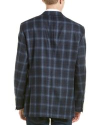 Hart Schaffner Marx - Blue Wool & Cashmere-blend Sport Coat for Men - Lyst