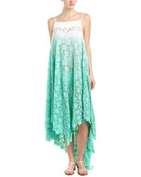 6 Shore Road By Pooja - Green Southbay Lace Cover-up - Lyst