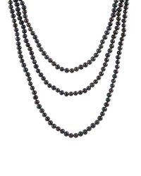 Splendid - Metallic 6-7mm Freshwater Pearl Endless 72in Necklace - Lyst