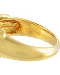 Heritage Van Cleef & Arpels - Metallic Van Cleef & Arpels 18k 1.00 Ct. Tw. Diamond Ring - Lyst