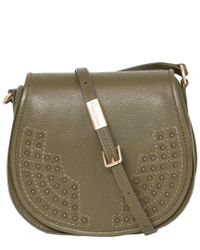 Foley + Corinna - Multicolor Foley & Corinna Leather Stevie Saddle Bag - Lyst