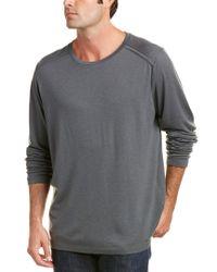 J Brand - Gray Zeta Wool-blend Top for Men - Lyst