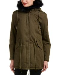 Laundry by Shelli Segal - Green Anorak Coat - Lyst