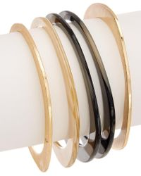 Trina Turk - Multicolor Havana Club Set Of 5 Bangles - Lyst
