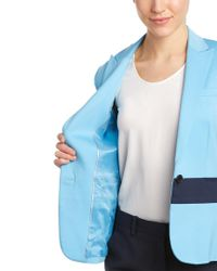 Anne Klein - Blue Jacket - Lyst