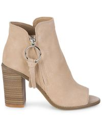Dolce Vita - Multicolor Leslie Suede Booties - Lyst