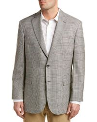 Brooks Brothers   Gray Silk & Wool-blend Madison Classic Fit Sportcoat for Men   Lyst