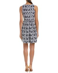 Julia Jordan - Blue A-line Dress - Lyst