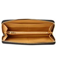 Sophie Hulme | Black Rosebery Leather Continental Wallet | Lyst