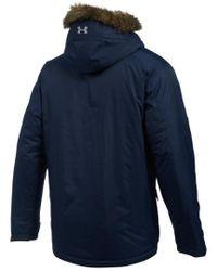 Under Armour - Blue Men's Coldgear Reactor Voltage Jacket for Men - Lyst