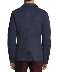 Orlebar Brown - Blue Dalton Deconstructed Blazer for Men - Lyst