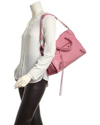 Balenciaga - Pink Small City Handbag - Lyst