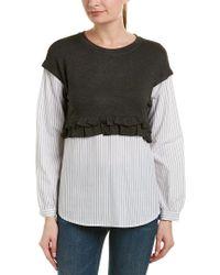 Kensie Multicolor Drift Sweatshirt