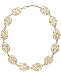 Baccarat - Metallic Favorite 18k Over Silver Crystal Necklace - Lyst