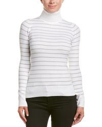 French Connection - Gray Turtleneck Sweater - Lyst