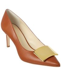 Bettye Muller - Brown Amuse Leather Pump - Lyst
