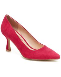 Nanette Lepore Pink Nanette By Tracy Sculpted-heel Pumps, Created For Macy's