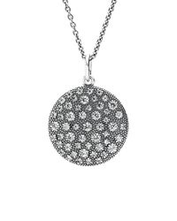 Pandora - Metallic Silver Cz 35in Necklace - Lyst