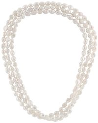 Splendid - Metallic 9-10mm Freshwater Pearl 64in Necklace - Lyst