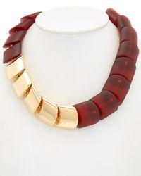 Lafayette 148 New York - Metallic Necklace - Lyst