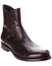 Frye - Black Jet Leather Boot for Men - Lyst