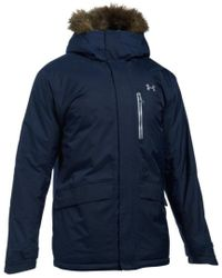 Under Armour - Blue Men's Coldgear Reactor Voltage Jacket for Men - Lyst