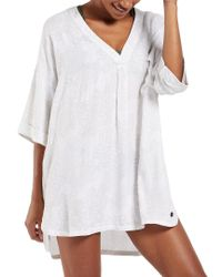 Life Is Good. - White ? Beach Cover-up - Lyst