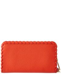 Tory Burch - Red Marion Smartphone Wristlet - Lyst