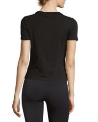 PUMA - Black Classic Stretch T-shirt - Lyst