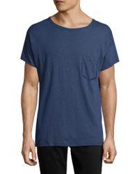Antony Morato - Blue Crewneck T-shirt for Men - Lyst