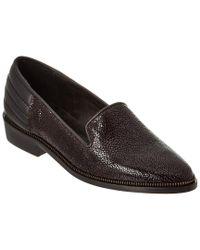 The Kooples - Black Leather Slipper - Lyst