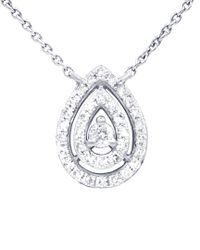 Diana M - Metallic . Fine Jewelry 14k 0.20 Ct. Tw. Diamond Necklace - Lyst