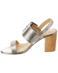 Splendid - Metallic Bo Leather Sandal - Lyst
