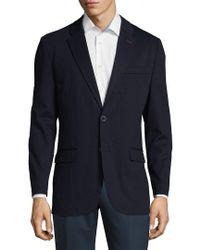 Tommy Hilfiger - Blue Notch Lapel Sportcoat for Men - Lyst