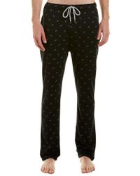 Kenneth Cole - Black Lounge Pant for Men - Lyst