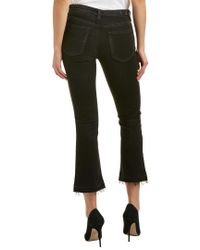 AG Jeans - Black The Jodi 4 Years Banished High-rise Slim Flare Crop - Lyst