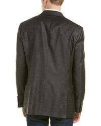 Hart Schaffner Marx Gray Wool Sportcoat for men